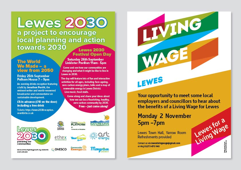 Lewes for a Living Wage and Lewes 2030