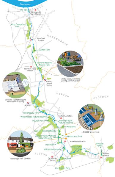 Wandle map
