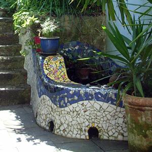 Mosaic pond