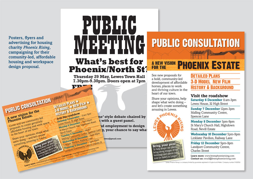 Phoenix poster and ad
