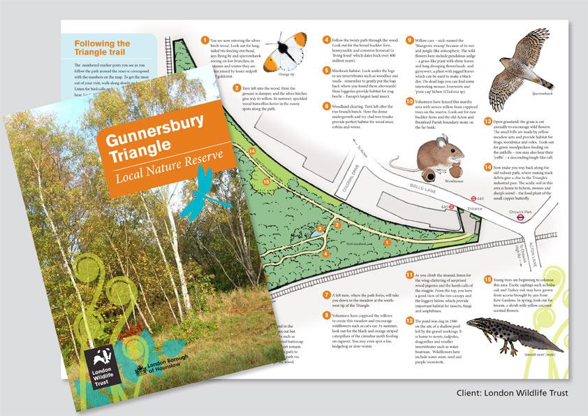 London Wildlife Trust leaflet