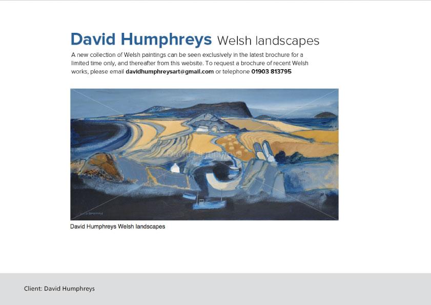 David Humphreys Art website