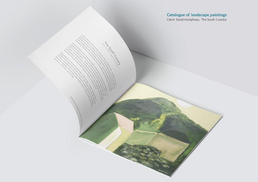 David Humphreys brochure 'The South Country'
