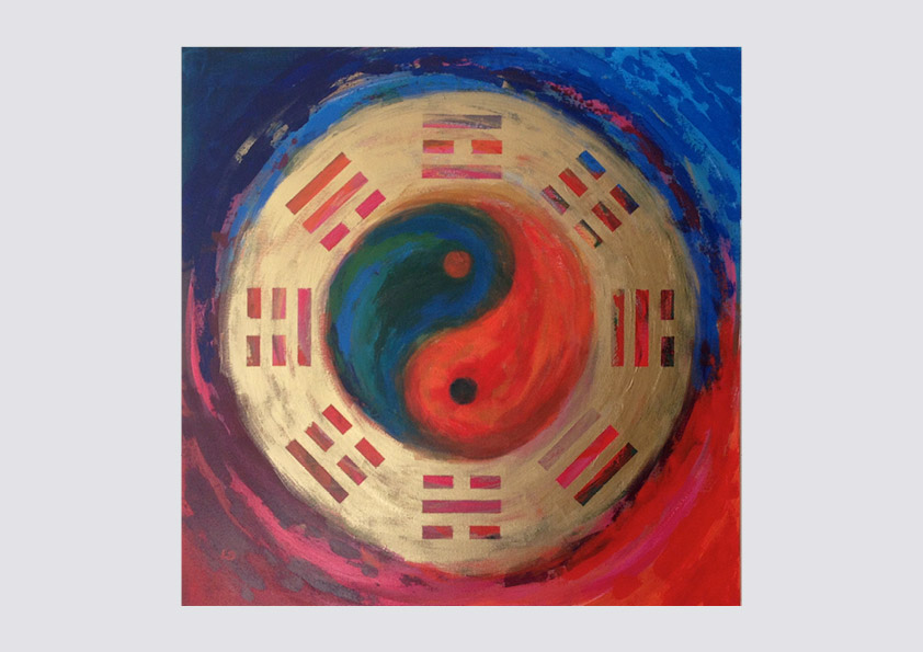I Ching painting